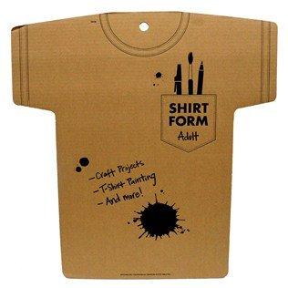 Shirt Form - Adult Cardboard Shirt Form