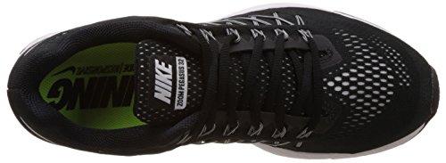 Nike Air Zoom Pegasus 32 - Zapatillas para hombre Negro / Blanco / Plateado (Black / White-Pure Platinum)