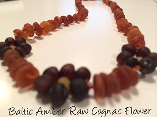 Adhd Raw Unpolished Baltic Amber Teething Necklace For