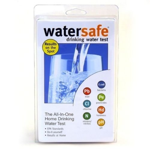 New WaterSafe All-In-One Drinking Water Bacteria Lead Pesticides Test Tester Testing Kit