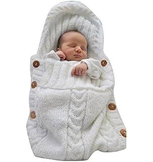 Moresave Manta de bebé recién nacido Manta térmica de vellón suave ...