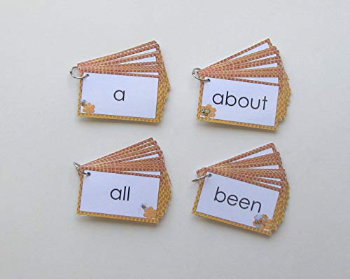 4 Teacher Created Literacy Resource Fry Words Flash Card Rings First 100 Words