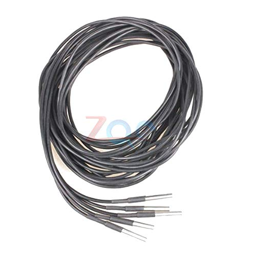 DS18B20 3M 300CM Digital Temperature Temp Sensor Probe Thermometer Waterproof Sensor Compatible for Arduino Stainless Steel