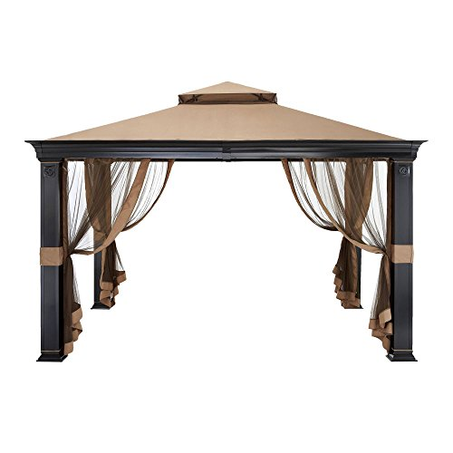 Tivering Two-Tiered Gazebo Replacement Canopy - RipLock 350
