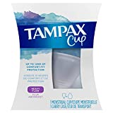 Tampax Heavy Flow Menstrual Cup - Up To 12 Hours Of Comfort-Fit Protection (packaging may vary)