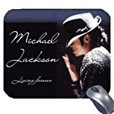 Michael Jackson Computer Mouse Pad 'King of Pop' Forever