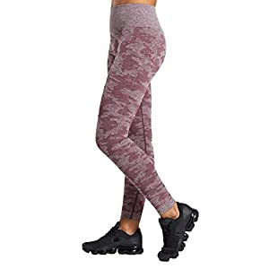 Pau1Hami1ton Vita Alta Camo Seamless Leggings Donna Palestra Capri Collant Pantaloni Yoga Ragazze Fitness Leggings Sportivi Allenamento GP-14