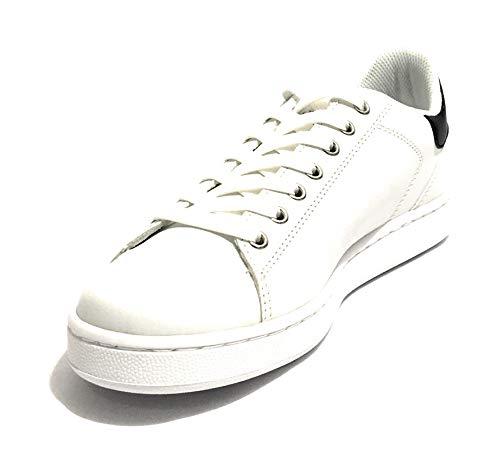 Gymnastique Sneakers De Trussardi Blanc Jeans Homme Chaussures qIwnRP0O