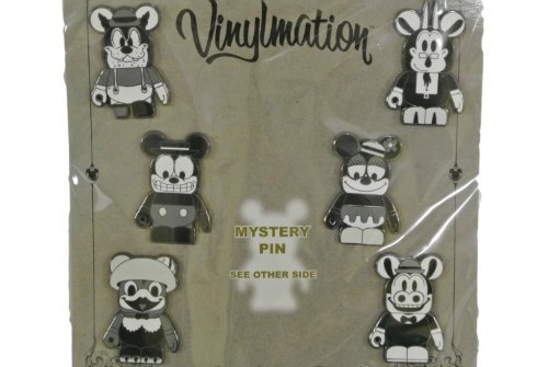 Disney Booster Set Black & White Classic Collection Vinylmation Trading ()