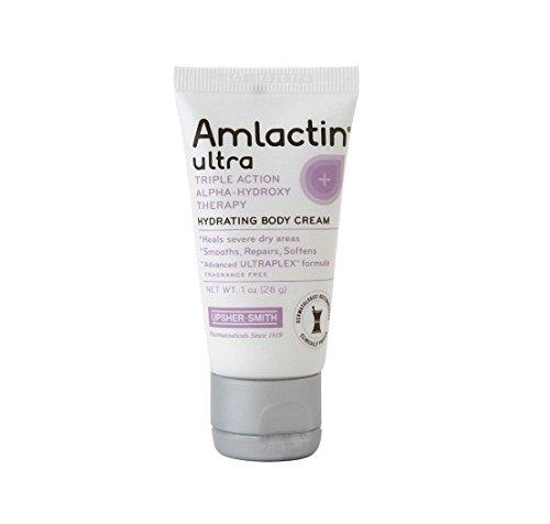 AmLactin Ultra Hydrating Body Cream, Fragrance Free, 1 oz - 2pc