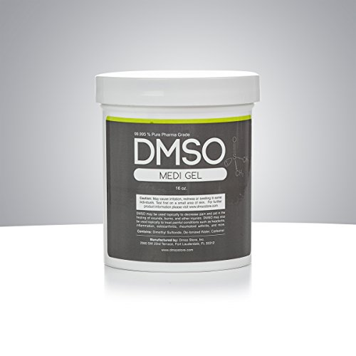 1 pound DMSO Gel BPA FREE 99.995% Non Diluted, Low Odor Pharma Grade Dimethyl Sulfoxide by DMSO Store
