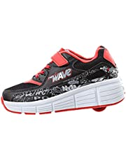 SDSPEED Kids Roller Skates Shoes Roller Shoes Boys Girls Wheel Shoes Roller Sneakers Shoes with Wheels