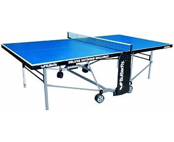 Mariposa mesa de ping pong plegable al aire libre de lujo Verde ...