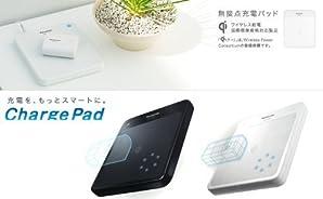 Panasonic 無接点充電パッド ChargePadチャージパッド ブラック QE-TM101-K