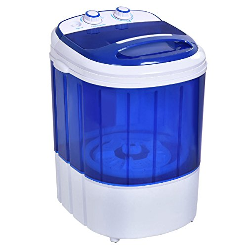 6.6 Lb Portable Washer - Small Mini Portable Compact Washer Washing Machine 6.6lbs Capacity Blue New