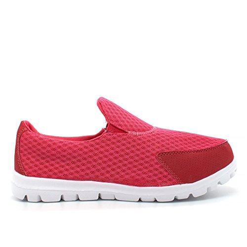 London Footwear London London Femme Basses Rose Footwear Femme Rose Footwear Basses F7XXPqS
