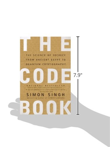 The code book the science of secrecy from ancient egypt to quantum the code book the science of secrecy from ancient egypt to quantum cryptography simon singh 8601419950577 amazon books fandeluxe Gallery