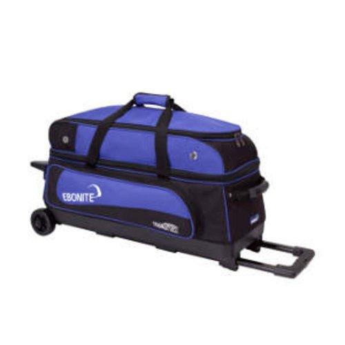 Ebonite Transport III Bowlingtasche, Schwarz/Blau