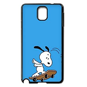 Peanuts Snoopy Productive Back Phone Case For Samsung Galaxy NOTE3 Case Cover -Pattern-1