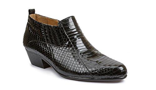 Giorgio Brutini Jarrett Plain Toe Demi-Boot Black 12 M & Shoe Rag Mens Giorgio Brutini Plain Toe