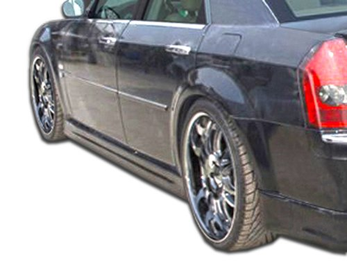 Duraflex ED-PDT-292 Brizio Side Skirts Rocker Panels - 2 Piece Body Kit - Compatible For Chrysler 300 2005-2010
