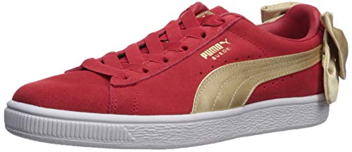 or Varsity Taille 39 Suede s Rouge Wn Chaussures Bow blanc Puma xwfq40Uptw