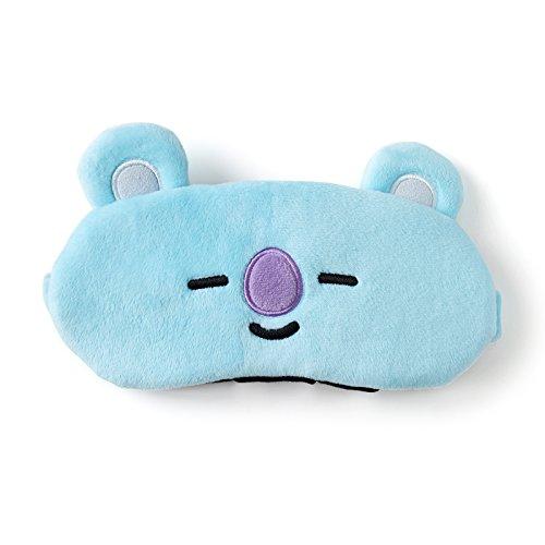 BT21 Official Merchandise by Line Friends - KOYA Character Eye Sleep Mask for Men & Women]()