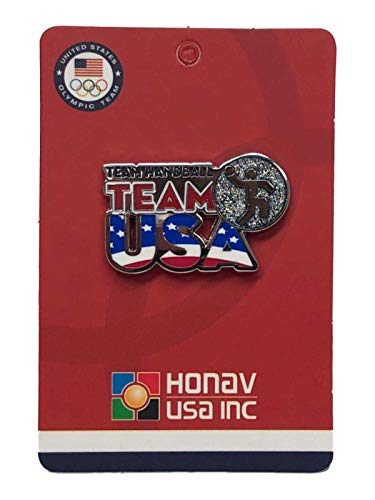 - 2020 Summer Olympics Tokyo Japan Team USA Team Handball Pictogram Lapel Pin