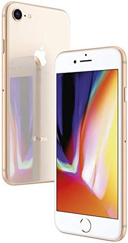 Apple iPhone 8, 64GB, Gold - For Sprint (Renewed)