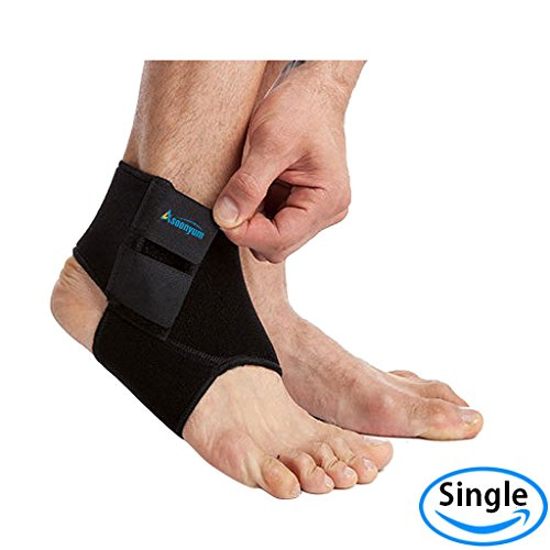 Neoprene Ankle Support and Brace Sprain - Reliable Stabilizer Foot Supports for (Super Deluxe Lace)