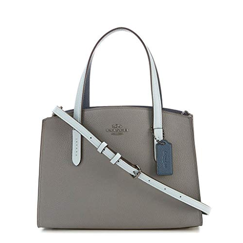 Women's Coach Handbags 31740 dkmvs Leather Grey UqqdS0g
