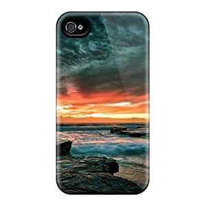 High Impact Dirt/shock Proof Cases Covers For Iphone 6 (interesting Sunset)