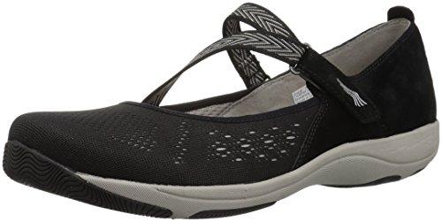 Dansko Women's Haven Mary Jane Flat, Black Suede, 39 M EU (8.5-9 US) (Women For Shoes Dansko)