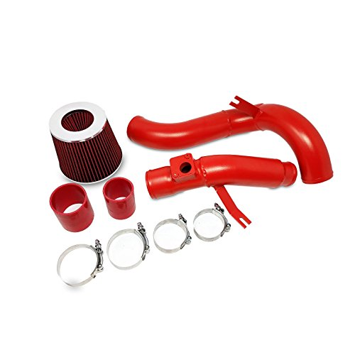 Rev9(AI-HD-FC-15T-RED) Cold Air Intake Kit for Honda Civic 2016-17 1.5L Turbocharged with CVT Only, Aluminum Pipe, Red