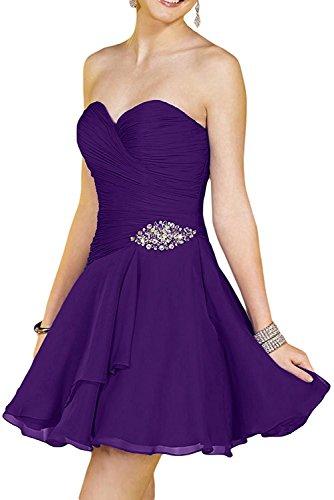 La Blau Elegant Braut mia Royal Lila Abendkleider Mini Abschlussballkleider Tanzenkleider Cocktailkleider Partykleider r5cCS5Wn