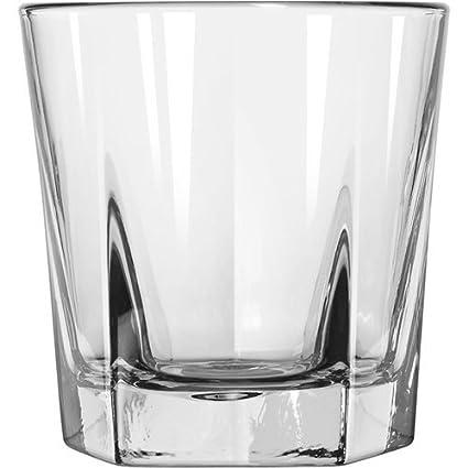 fb5025edd2 Double Old Fashioned Rocks Whiskey Scotch Glasses 12 Oz -Set of 4-heavy Base  Elegant Barware  Amazon.co.uk  Kitchen   Home