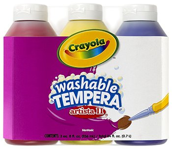 10 Pack CRAYOLA LLC FORMERLY BINNEY & SMITH TEMPERA PAINT WA