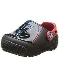 crocs Kids' Crocsfunlab Lights Darth Vader Clog