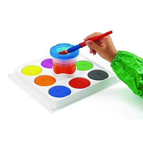 (Colorations CUPNTRAY Cup and Tray Tempera Cakes)