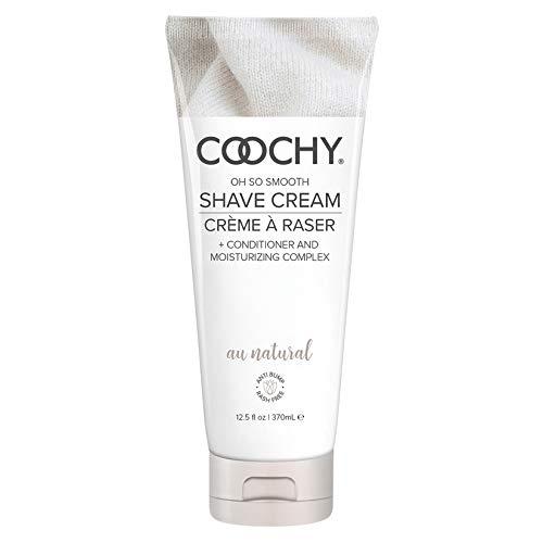 Coochy Shave Cream-Au Natural 12.5oz-+ Coochy Fragrance Body Mist by Ghettoff