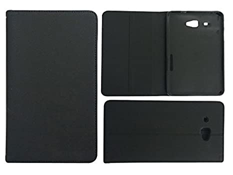 huge selection of 6fbef a85ae Colorcase Tablet Flip Cover Case for Samsung Galaxy J Max - Black