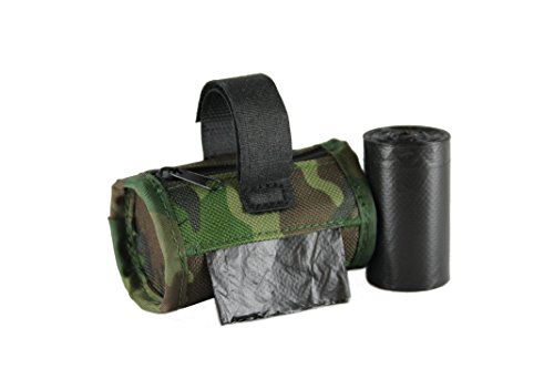 ispenser with 2 Rolls Refill Bags (Green Camo) ()