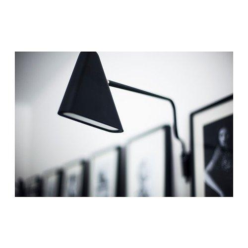 esHogar IKEA 2012 lámpara pared PS LEDnegroAmazon de O80mvwNn