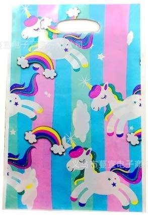 60 Pezzi Sacchettini di Festa a Modello di Unicorn Festa Compleanno Partito Nozze Sacchetti di Biscotto Borse Regalo Sacchetti Trattare Borse per Natale Annhao Sacchetti Compleanno Unicorno