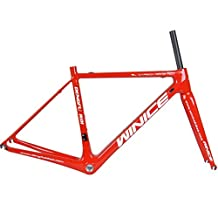 Winicebikes Super Light Weight Carbon Road Frameset Glossy Finish Cycling Biyclce Frames