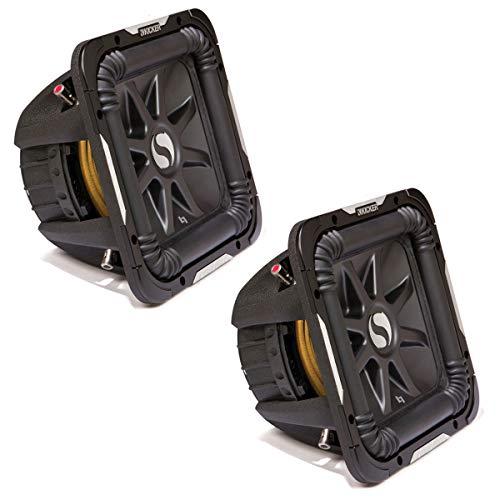Kicker 11S15L72 x 2 Solobaric L7 Subwoofer Dual 2 Ohm 15