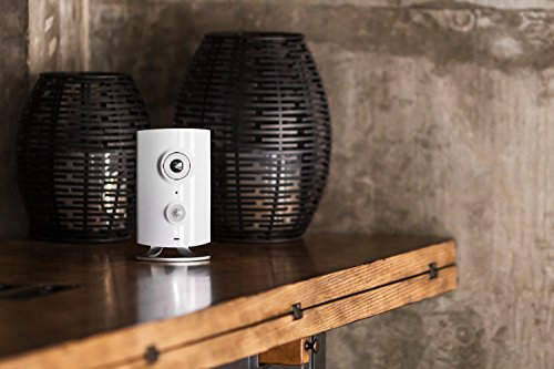 Piper classicAll-in-One Security System with Video Monitoring Camera, White