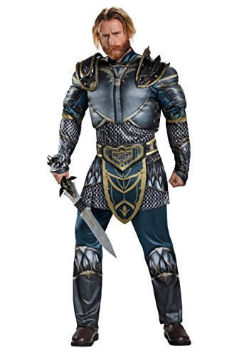 Fantasy Costumes 2016 (Disguise Men's Warcraft Lothar Muscle Costume, Multi, X-Large)