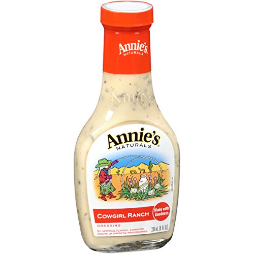 Annies Homegrown Cowgirl Ranch Dressing, 8 Ounce -