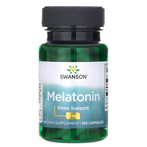 Swanson Melatonin Milligrams 120 Capsules